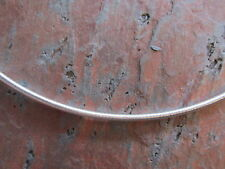 """Sterling Silver Neck Wire Omega Coil Cable Necklace 2.4 mm 16"""" Collar Neckwire"""