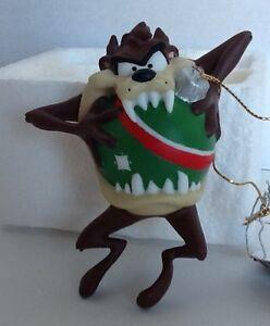 Taz Looney Tunes Christmas Ornament Silent Bite Goebel ...