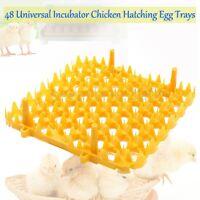 48 Universal Incubator Chicken Hatching Egg Trays GQF Dickey Brinsea