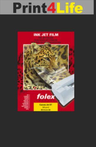 A4 Premium Canvas Leinwand für Tintenstrahldrucker Gemäldepapier 2 Bl
