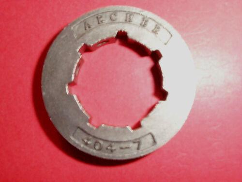 Anillo de repuesto para rueda dentada 404 división F Husqvarna 181,185,281,288,362,371,1100 otros