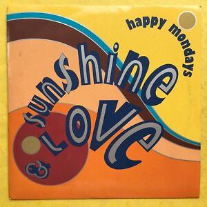Happy-Mondays-Sunshine-amp-Liebe-Staying-Alive-Fabrik-FAC-372-7-Ex