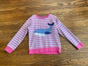 MINI-BODEN-applique-sweatshirt-girls-size-7-8