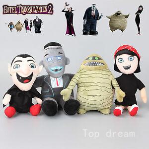 Hotel-Transylvania-MURRAY-The-Mummy-Dracula-Mavis-Frankenstein-Plush-Soft-Toy