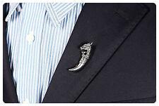 Vintage Look Wolf Tooth Brooch,Unusual,Gift Idea,Fashion,Men,Women,Unusual,Style