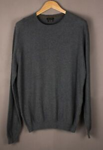MASSIMO-DUTTI-Men-Cotton-Cashmere-Knit-Jumper-Sweater-Size-L-ATZ1094