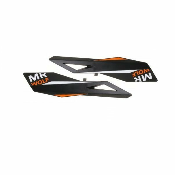 Paar paramani mtb  Ohren  black    orange 8054701750193 MrWolf Lenker  fair prices