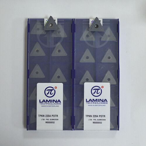PVD Milling cutter blade insert carbbide inserts 30pcs TPKN2204 PDTR LT30
