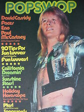 POPSWOP MAGAZINE 9TH JUNE 1973 - THE SWEET - DAVID CASSIDY - BRIAN ENO