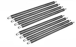 Torfedern 2 Stück Normstahl kompatible Zugfedern 2,5x20x400 Garagentorfeder