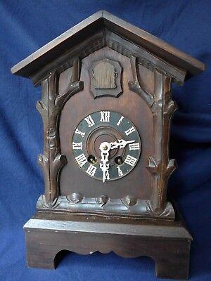 Angemessen Tisch Kuckucksuhr Pendule / Cuckoo Clock Von Sehr Guter Qualität M. Video Selten Aromatischer Charakter Und Angenehmer Geschmack