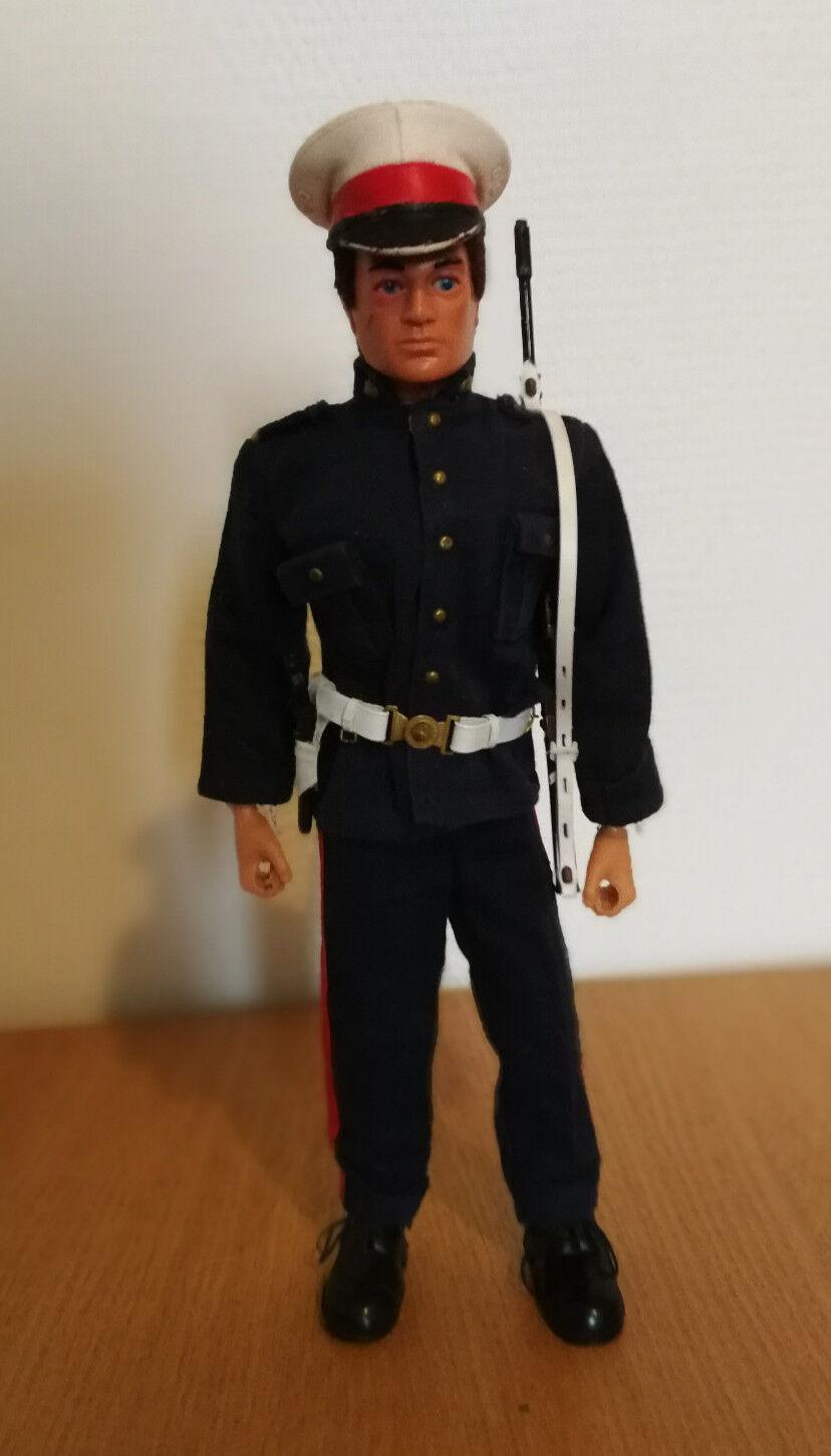 Action man vintage Royal marine ceremonial uniform