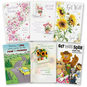 Get well soon greeting card poorly accident recovery operation image is loading get well soon greeting card poorly accident recovery m4hsunfo