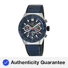 New Tag Heuer Carrera Calibre Heuer 02 45mm Blue Men's Watch CBG2A11.FC6460
