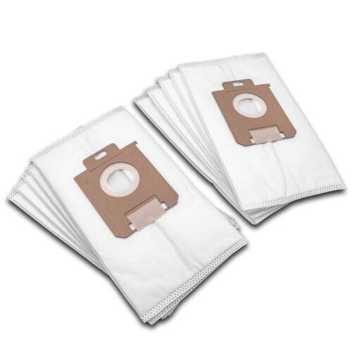 8378 8351 8362 8373 10x Micro étoffe sacs à poussière pour Philips HR 6999
