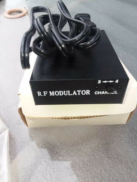 (new) Uhf Rf Modulator For Audio And Video Signals Free Shipping Elegant En Stevig Pakket