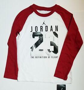 24f2d15aadd06d Image is loading Nike-Air-Jordan-Boys-Jumpman-Long-Sleeve-T-