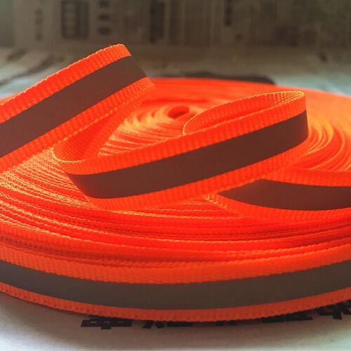 5 yards Reflective Tape Strip Sew-On Silver Fabric Trim Safty Vest Width 10mm
