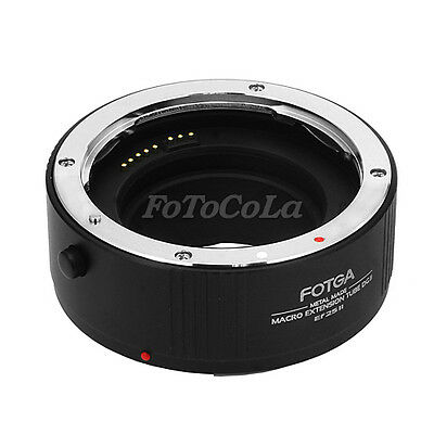 Fotga Metal automatic macro extension tube 25mm for Canon EF EF-S EF-25 w/ caps