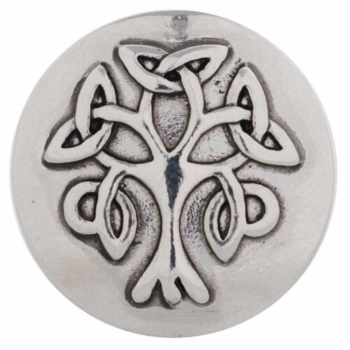 SNAP IN BUTTON CHARM FITS GINGER SNAPS STYLE JEWELRY LIFE TREE #214