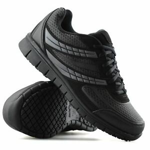 Mens-Casual-Lace-Up-Non-Slip-Memory-Foam-Walking-Hiking-Work-Trainers-Shoes-Size