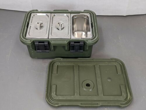 Cambro Hot /& Cold Insulated Food Container Gastronorm Carrier Army Military