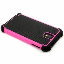 New Hot Pink Heavy Duty Protection Hard Case For Samsung Galaxy Note 3 N9000