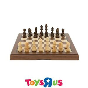 Dal-Rossi-Chess-Set-Folding-Walnut-Inlaid-12-034