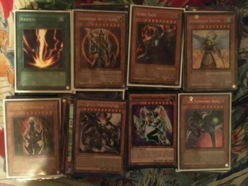 Yugioh Cards Lot 200 Mixed TCG Binder Collection Holos Foil Rares Common