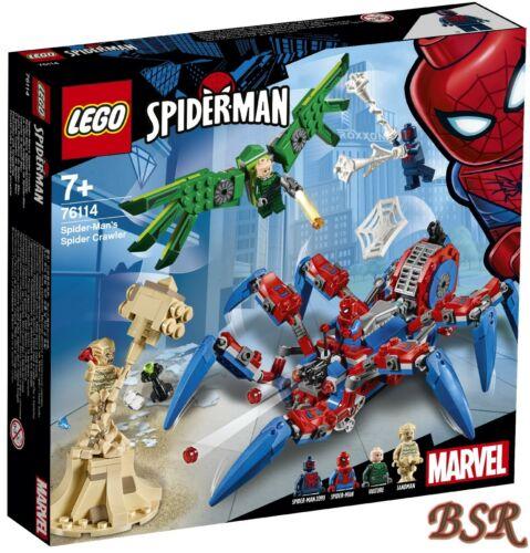 LEGO® Super Heroes 76114 Spider-Mans Spinnenkrabbler /& 0.-€ Versand /& NEU /& OVP