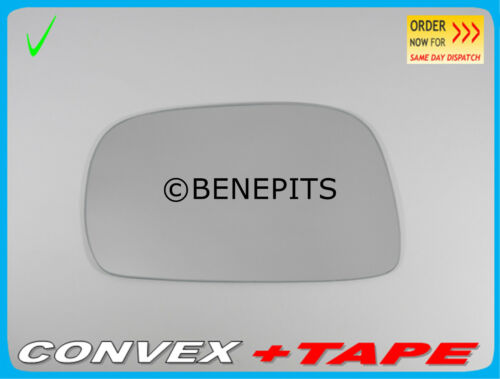 STRONG TAPE //136 2001-2007 Left Side Wing Mirror Glass For SUZUKI WAGON R