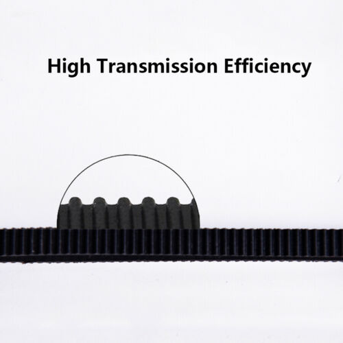2GT Timing Belt 6mm Width Closed Loop 3D Printer Fitting Perimeter 110mm-852mm