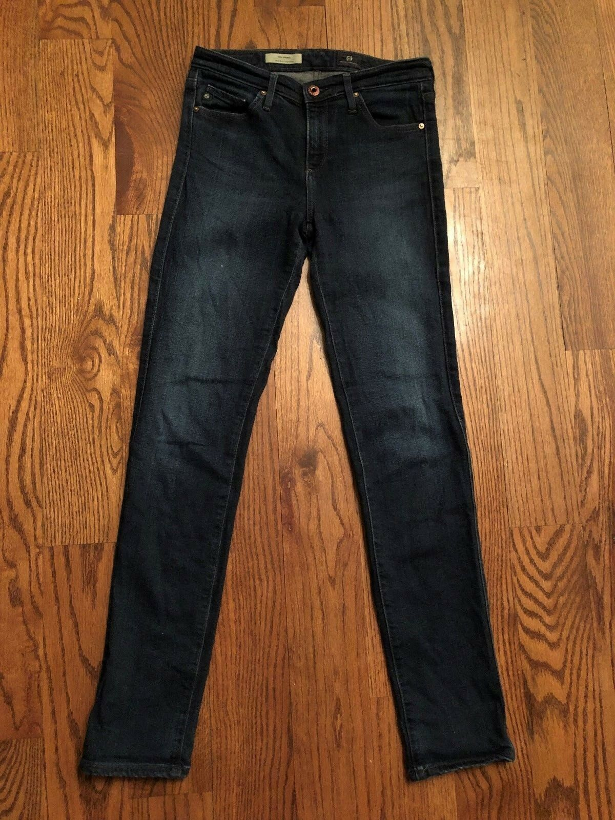 25 x 29.5 AG Adriano goldschmied The Prima Mid-Rise Cigarette Skinny Jetsetter