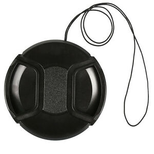 Objektivdeckel-77mm-fuer-alle-Objektive-amp-Kameras-Lens-Cap-Kappe-Schutz-Schwarz