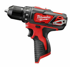 "New Milwaukee M12 2407-20 12V Li-Ion 3/8"" Cordless Drill/Driver (Bare Tool)"
