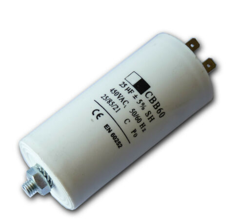 Universal Microfarad Start und Rennen Kondensator Mfd 5uf 80uf Flachstecker