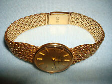 Vtg Beautiful Mechanical Hand-winding 18 KT Solid Gold Lady's Hamilton Watch