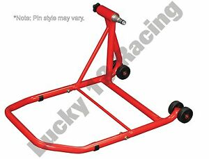 Single-sided-rear-paddock-stand-Honda-VFR750-R-RC30-88-93-amp-VFR-400-R-89-91-NC30