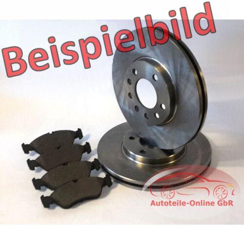 Opel Astra H Bremsen Bremsscheiben Bremsbeläge vorne nur für 5 Lochfelgen