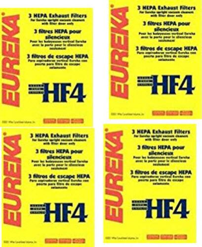 EXHAUST FILTERS  12 Per Pack EUREKA HF4 Filters