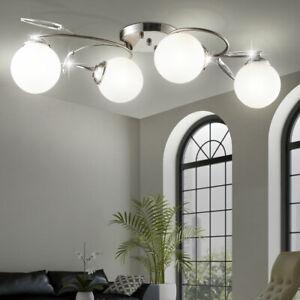 LED Design Decken Spot Strahler Lampe Leuchte Wohn Zimmer Chrom Beleuchtung Büro