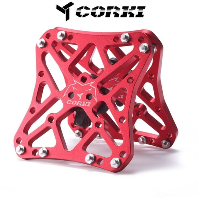 4a1ea2350 Univeral Platform Adapter For Clipless Pedal SHIMANO SPD SL Speedplay Look  Red