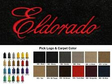 Lloyd Mats Cadillac Eldorado Word Velourtex Front Floor Mats (1979-2002)