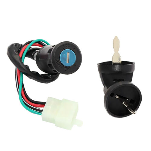 4 Wire Ignition Key Barrel Switch for ATV Quad Taotao Pit Dirt Bike 50-125cc
