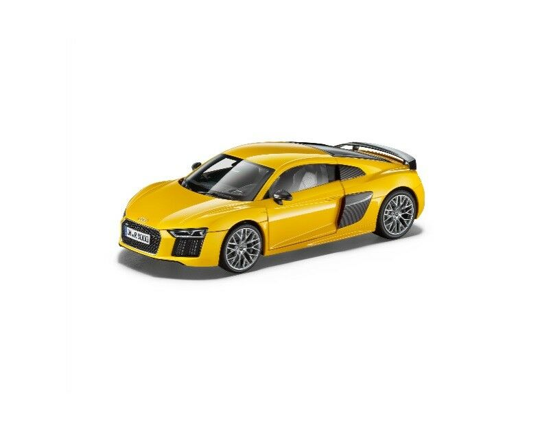 Original Audi R8 Coupe 2015 Modellauto 1 18 Vegasyellow - Vegas yellow 5011518415