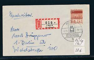 10444) Spécial R-ticket De Cologne Eurosnack, Lettre Sst 7.11.70, Ef 110pf-afficher Le Titre D'origine