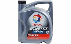 5-TOTAL-Olio-motore-QUARTZ-INEO-ECS-5w30-C2-5-Litri-per-PEUGEOT-508-TOT006