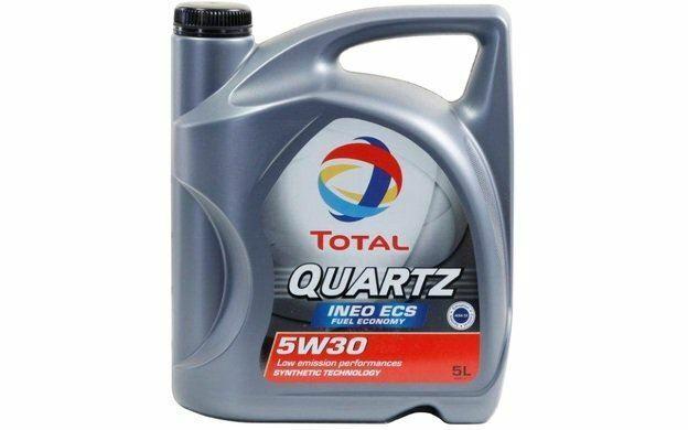 (5) TOTAL Olio motore QUARTZ INEO ECS 5w30 C2 - 5 Litri per PEUGEOT 508 TOT006