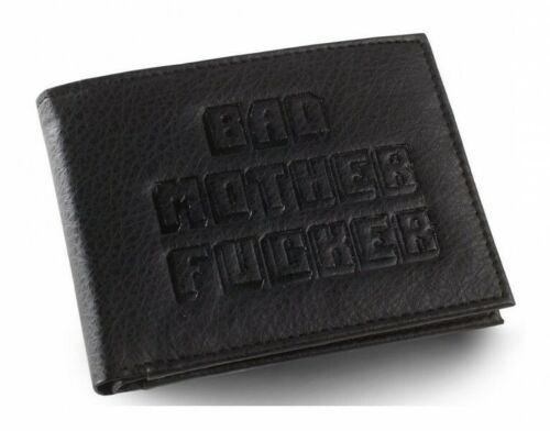 Pulp Fiction portefeuille Bad Mother Fucker Logo Embossed porte monnaie 238584