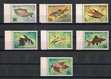 Vietnam, Fische | Fishes Sea Life MiNr. 1453 - 1459, 1984** MNH postfrisch
